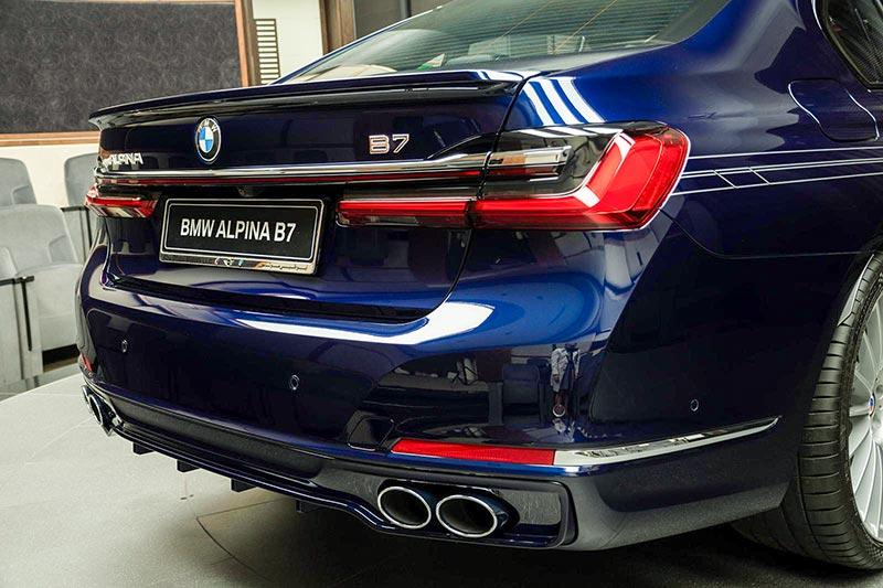BMW Alpina B7 BiTurbo, Heckansicht