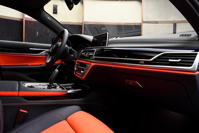 BMW Alpina B7 BiTurbo, Interieur vorne