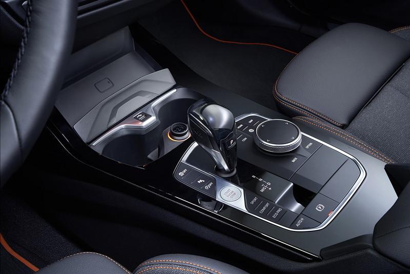BMW 118i Sportline, Mittelkonsole