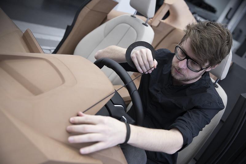 BMW 1er, Designsprozess, Claymodell