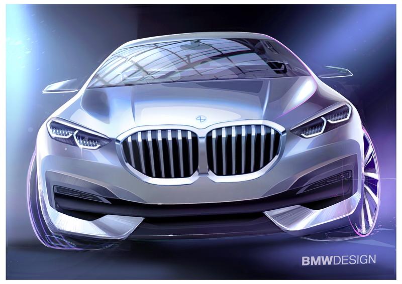 BMW 1er, Designskizze