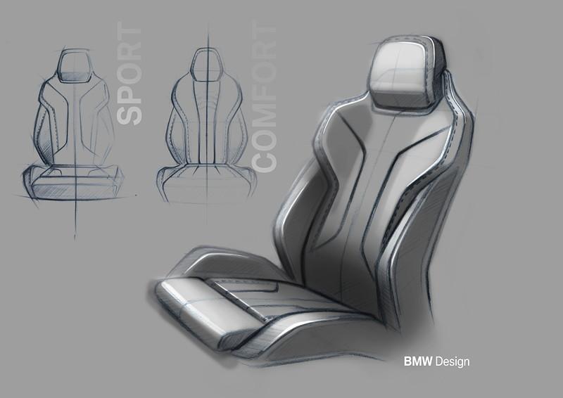 Das neue BMW 8er Gran Coupé, Design Skizze