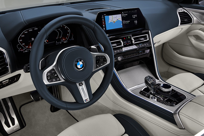 Das neue BMW 8er Gran Coupé, Cockpit