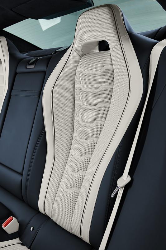 Das neue BMW 8er Gran Coupé, Sitze im Fond