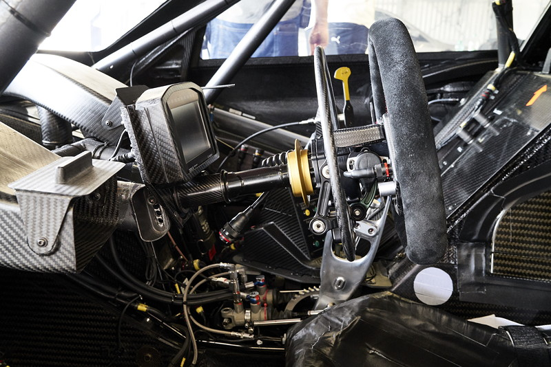 München, 07.08.2018. BMW M4 DTM, Cockpit, Modifikationen, Alessandro Zanardi, Technik.