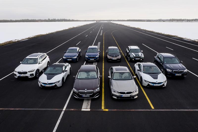 Die elektrifizierten Fahrzeuge der BMW Group