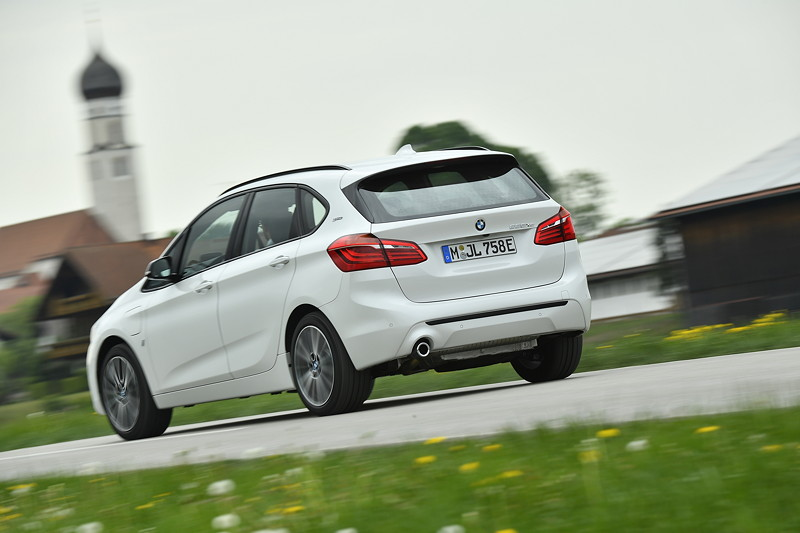 Der BMW 225xe Active Tourer.