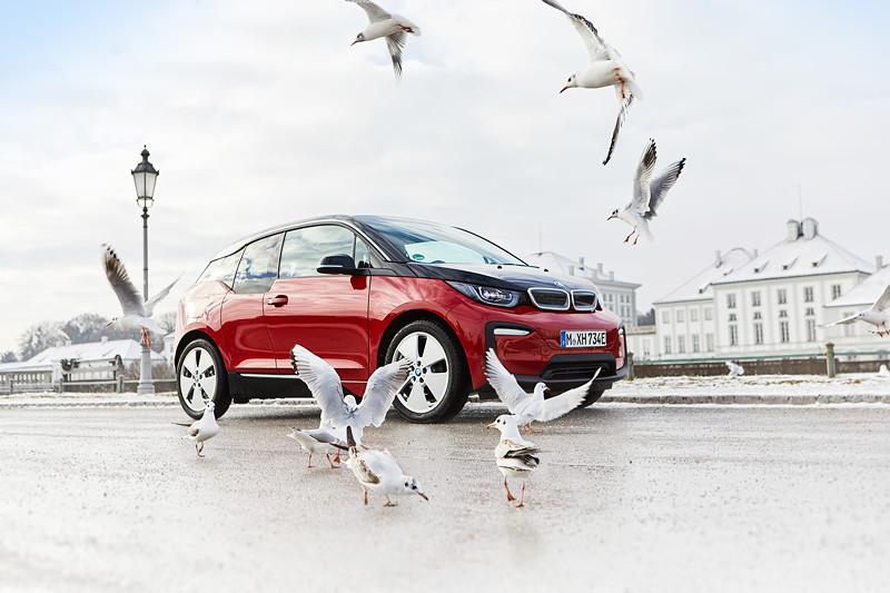 Der BMW i3.