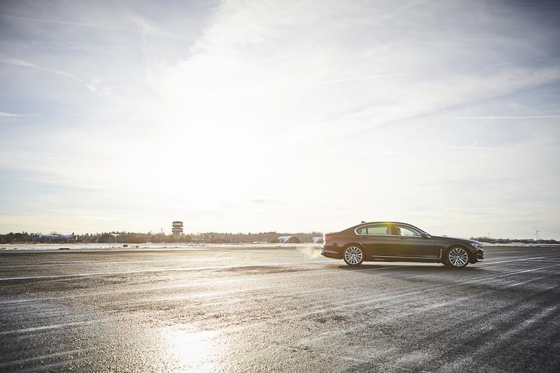 Die BMW 745Le Limousine.