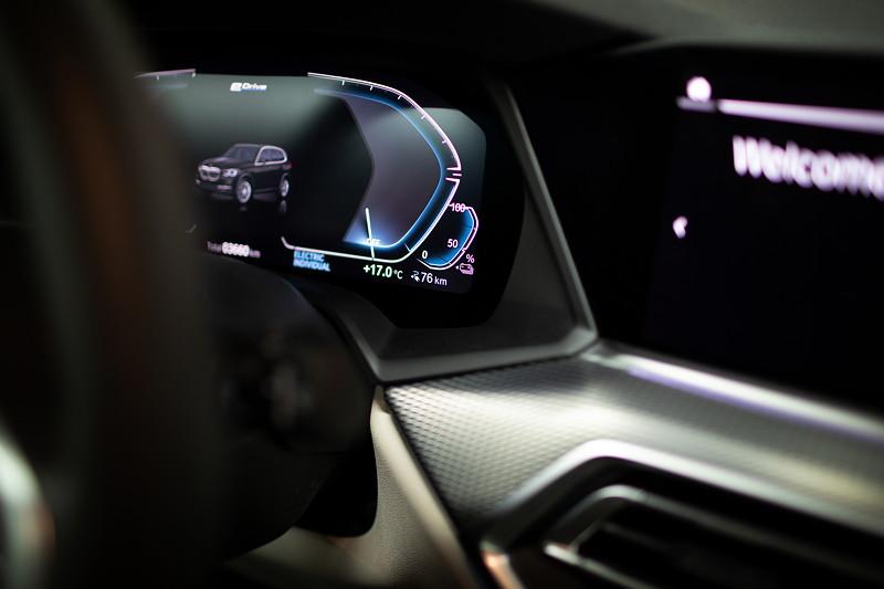 Der BMW X5 xDrive45e - Interieur.