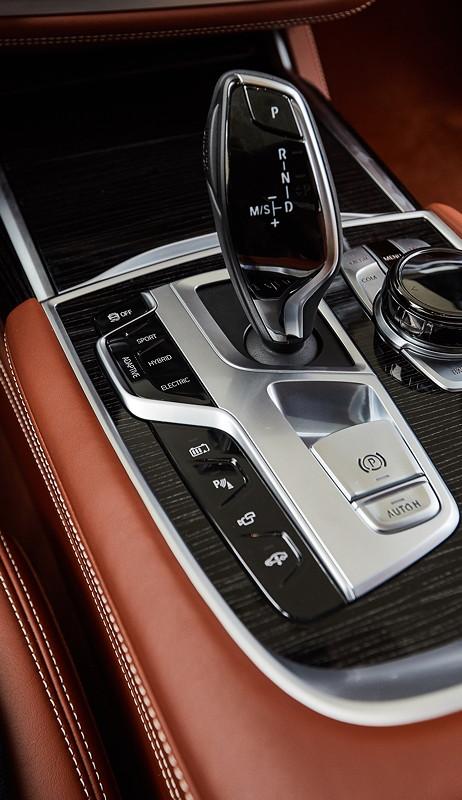 Die BMW 745Le Limousine - Interieur.