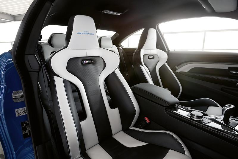 Die BMW M4 Edition M Heritage