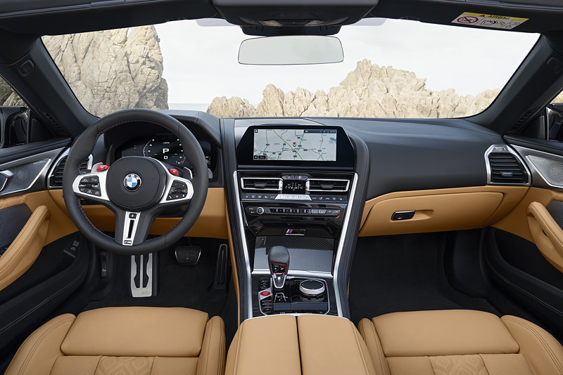 BMW M8 Competition Cabrio, Interieur vorne