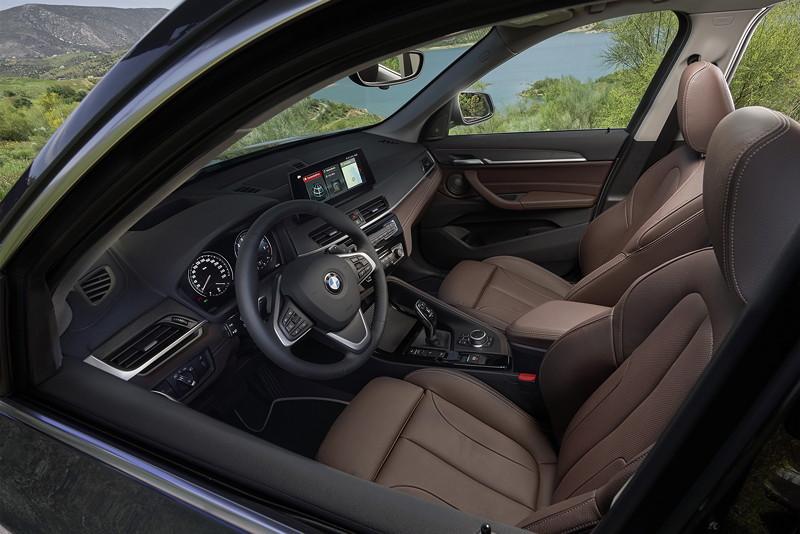 Der neue BMW 1er (Modell F48 LCI), Interieur