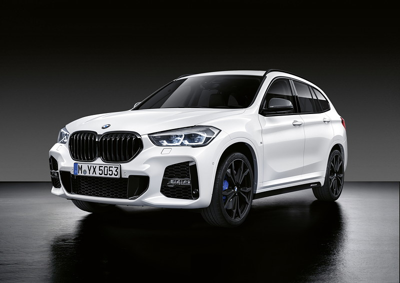 Der neue BMW X1 mit M Performance Parts