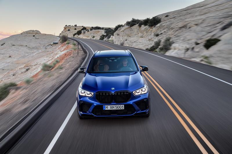 Der neue BMW X5 M Competition (F95).