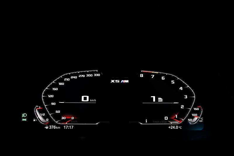 Der neue BMW X5 M Competition (F95). BMW Live Cockpit Professional.