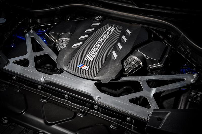 Der neue BMW X5 M Competition (F95). V8-Motor mit 625 PS.