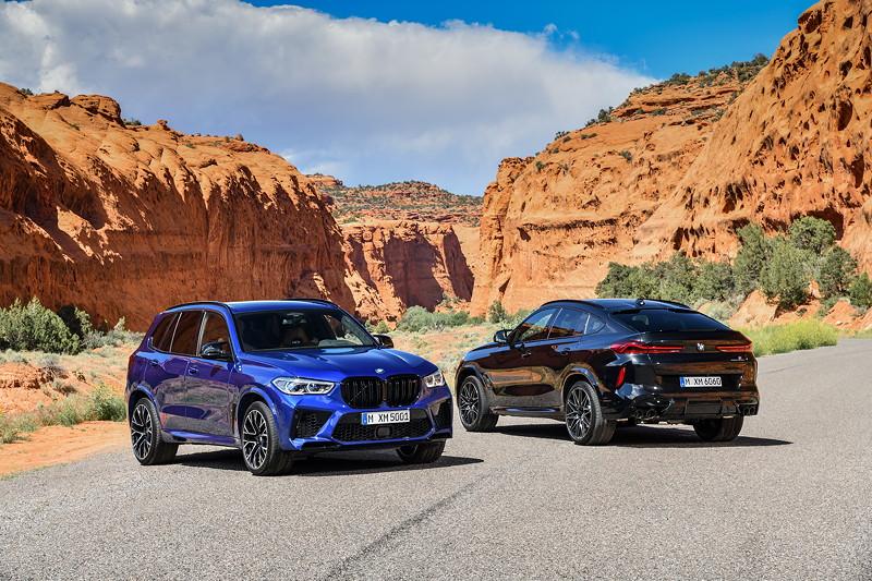 Der neue BMW X5 M und BMW X5 M Competition.