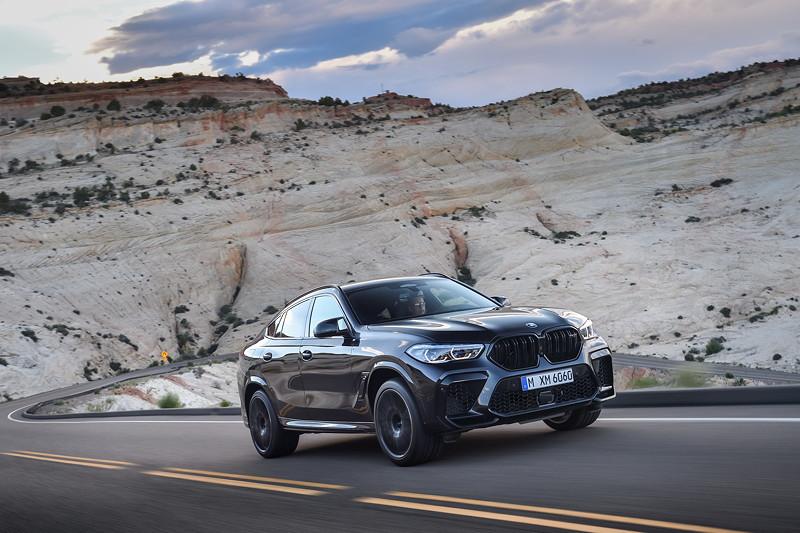 Der neue BMW X6 M Competition (F96).