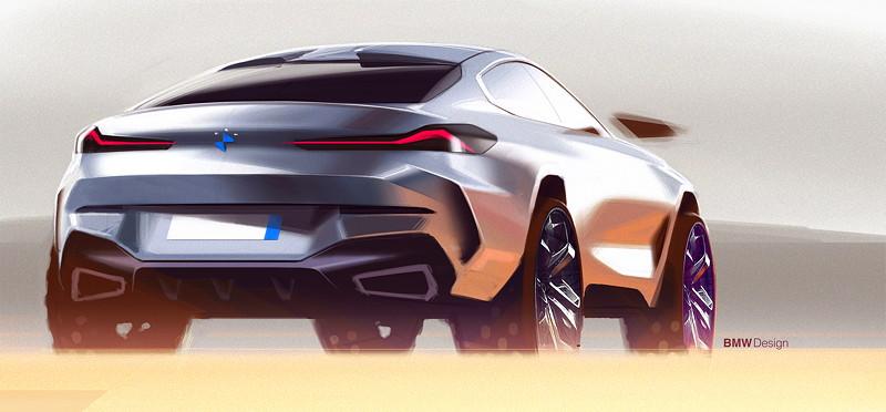 BMW X6 - Designskizze
