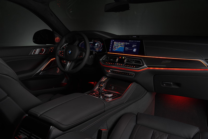 BMW X6 - Interieur vorne