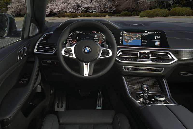 BMW X6 - Cockpit