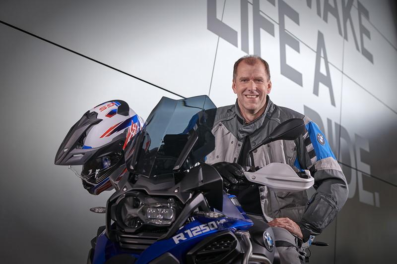 Christof Lischka, Leiter BMW Motorrad Entwicklung.
