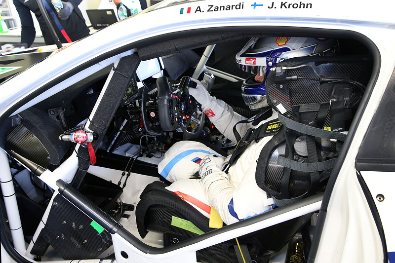 Miramas (FRA), 5.-7. November 2018. BMW M Motorsport, Road to Daytona, Test BMW M8 GTE, Alessandro Zanardi (ITA).