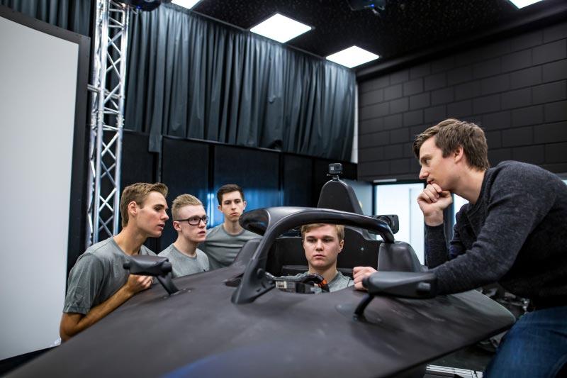 München, 04.-06.02.2019. BMW Motorsport Junior Programm, Erik Johansson, Aaron Seton, Benjamin Lessennes, Ben Tuck.