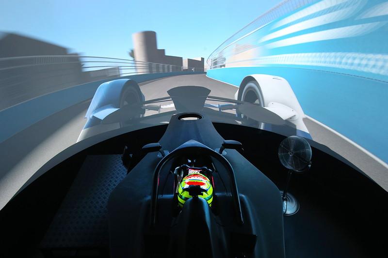 BMW Motorsport, BMW i Motorsport, Simulator, Rennsimulator, ABB FIA Formula E Championship.