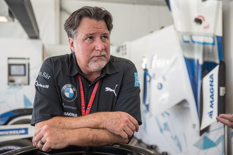 Santiago (CHI), 25.-26.01.2019. BMW i Andretti Motorsport, ABB FIA Formel E Meisteschaft, Santiago E-Prix, BMW iFE.18, Michael Andretti.