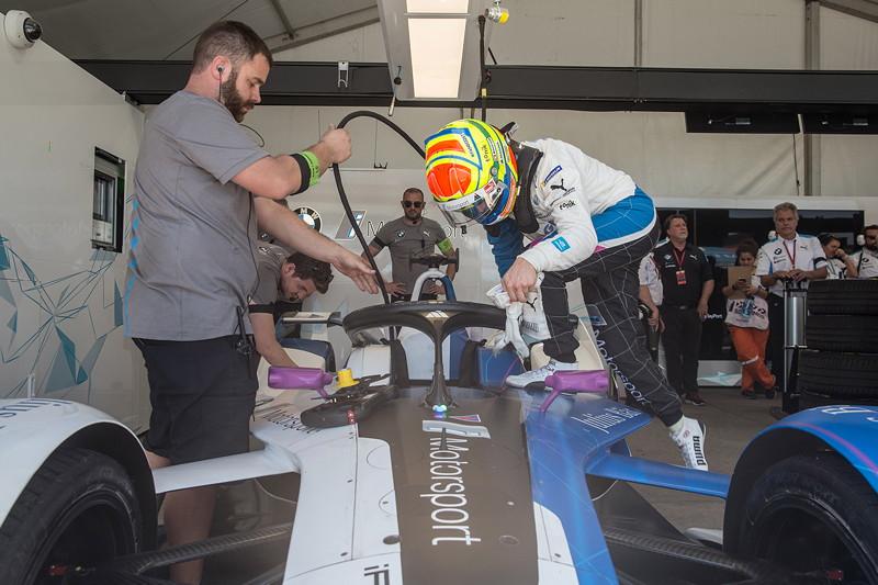 Santiago (CHI), 25.-26.01.2019. BMW i Andretti Motorsport, ABB FIA Formula E Championship, Santiago E-Prix, BMW iFE.18, Alexander Sims.