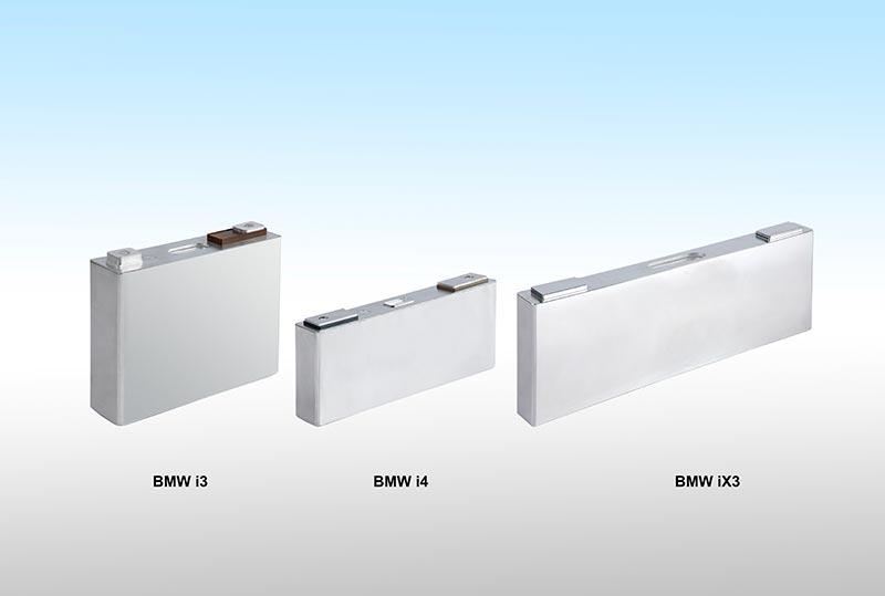 BMW Hochvolt-Speicher Zellen für BMW i3 (2019), BMW iX3 (2020), BMW i4 (2021)