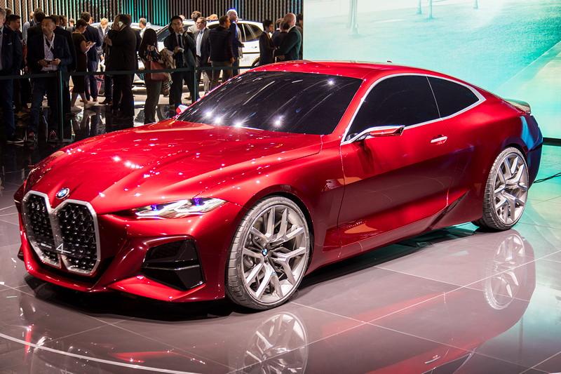 BMW Concept 4: Weltpremiere auf der IAA 2019.