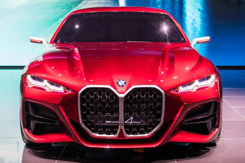 Weltpremiere auf der IAA 2019: das BMW Concept mit auffällig großer Niere
