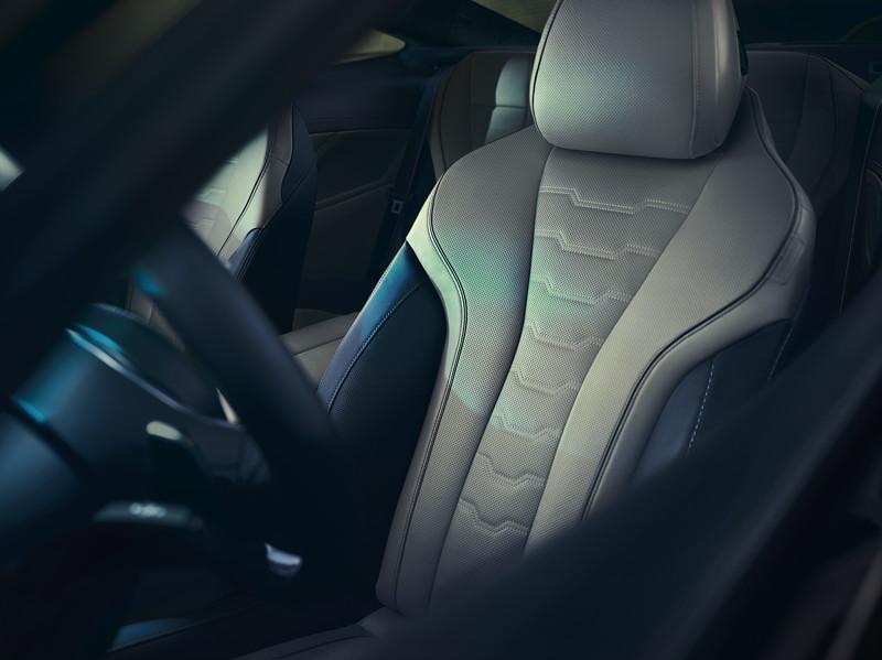 Das BMW M850i xDrive Coupé First Edition. Fahrersitz.