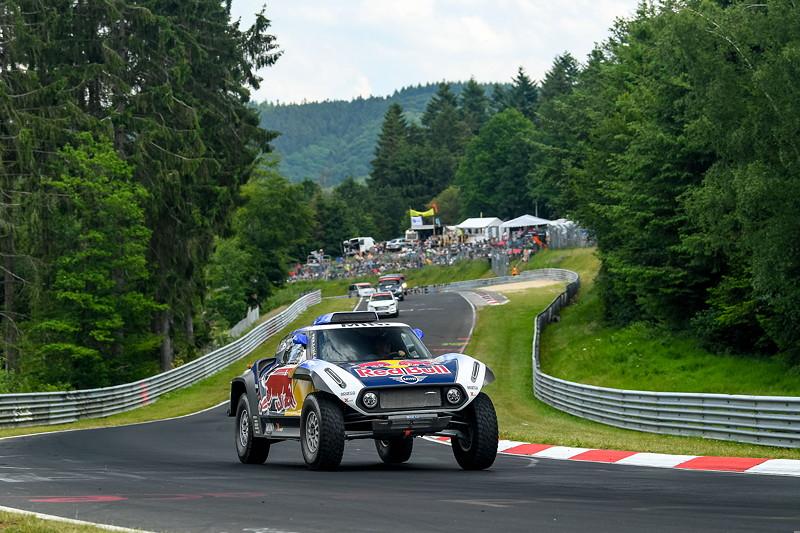 MINI auf dem Nürburgring