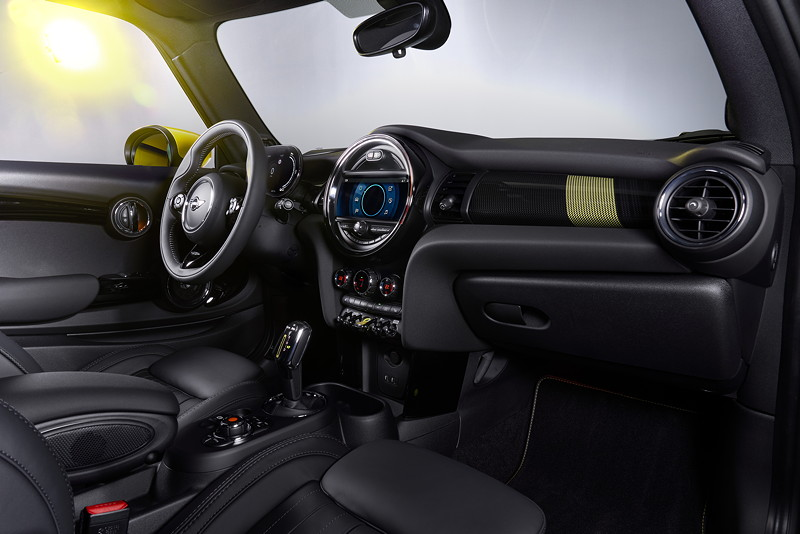 Der neue MINI Cooper SE.