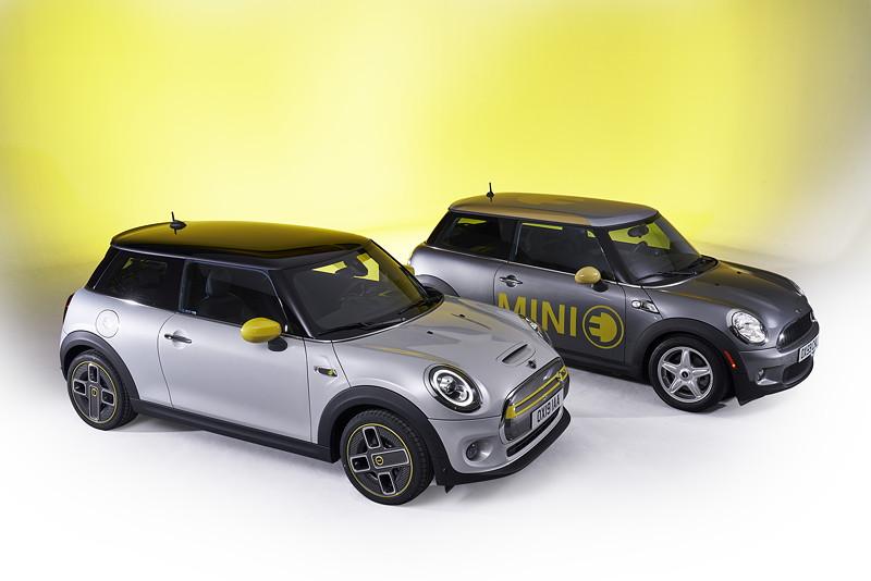 Der neue MINI Cooper SE mit dem MINI E.