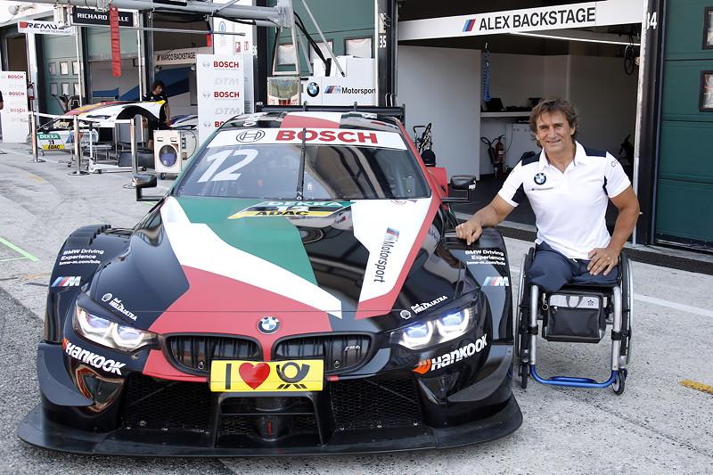 Misano (ITA), 24. August 2018. BMW M Motorsport, DTM, Alessandro Zanardi (ITA), BMW M4 DTM, BMW Team RMR.