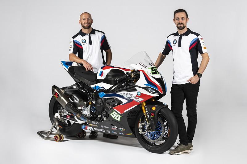 Tom Sykes #66 (GBR) und Eugene Laverty #50 (GBR) - BMW S1000RR.