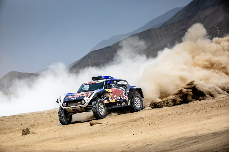 2019 Dakar, shake down, Carlos Sainz (ESP), Lucas Cruz (ESP) - MINI JCW Buggy - X-raid MINI JCW Team, #300 - 04.01.2019