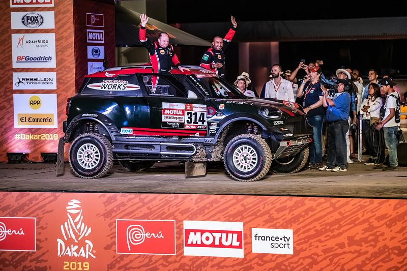 Rallye Dakar 2019, Yazeed Al Rajhi (KSA), Timo Gottschalk (DEU) - MINI John Cooper Works Rally - X-raid MINI JCW Rally Team, #314 - 06.01.2019