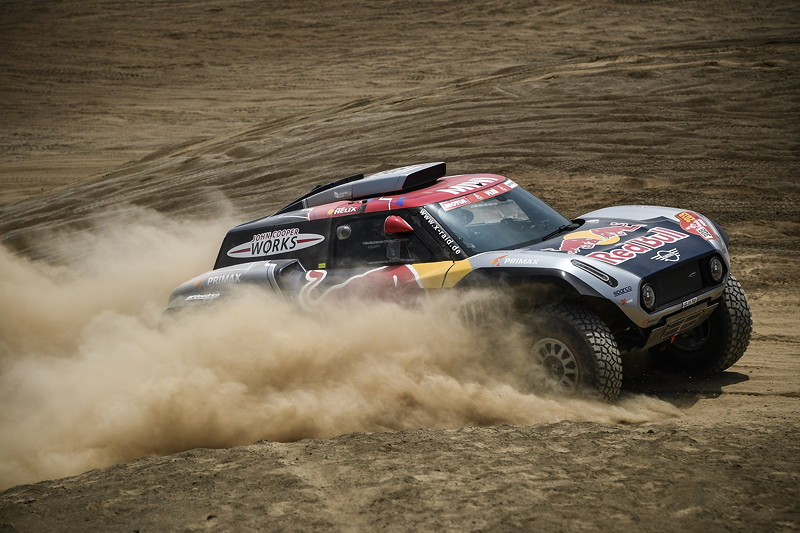 2019 Dakar, shakedown, Cyril Despres (FRA), Jean Paul Cottret (FRA) - MINI JCW Buggy - X-raid MINI JCW Team, #308 - 04.01.2019