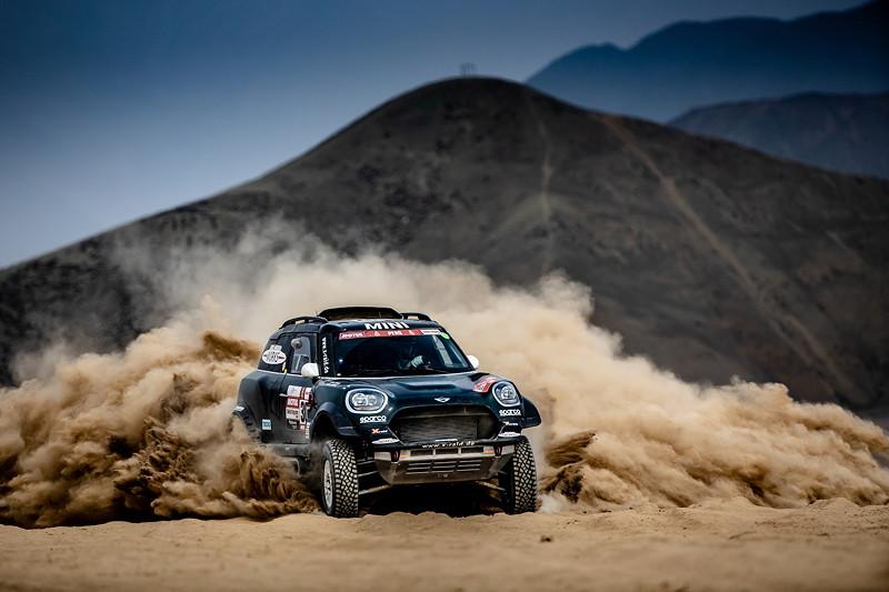 2019 Dakar, shakedown, Nani Roma (ESP), Alex Haro ESP) - MINI John Cooper Works Rally - X-raid MINI JCW Rally Team, #307 - 04.01.2019