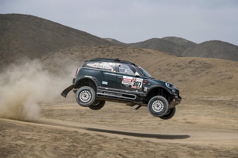 2019 Dakar, shakedown, Nani Roma (ESP), Alex Haro ESP) - MINI John Cooper Works Rally - X-raid MINI JCW Rally Team, #307 - 04.01.201