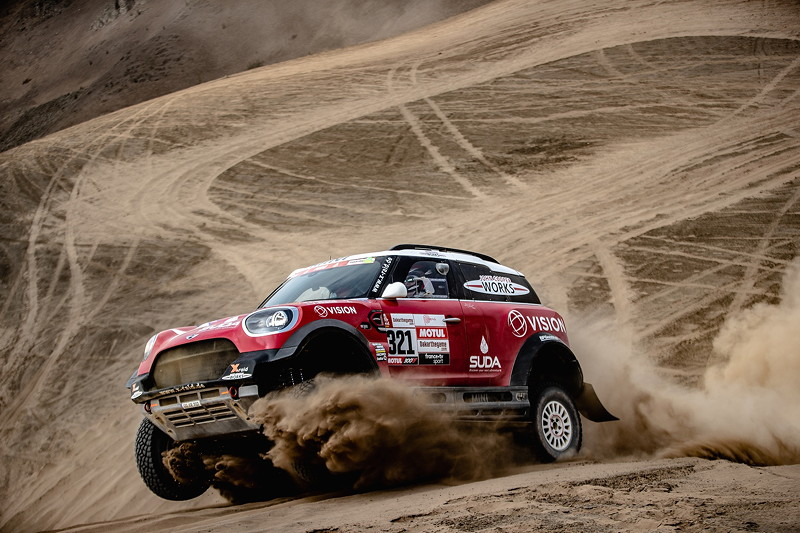 2019 Dakar Rally, shakedown, Boris Garafulic (CHL), Filipe Palmeiro (POR) - MINI John Cooper Works Rally - X-raid MINI JCW Rally Team, #321- 04.01.2019