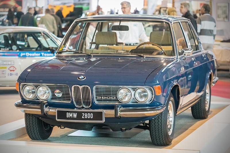 BMW 2800 mit Reihen-Sechsyzlinde-Motor, 170 PS