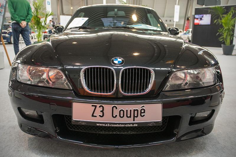 BMW Z3 Coupé 3.0i, ausgestellt auf dem BMW Club Gemeinschaftsstand